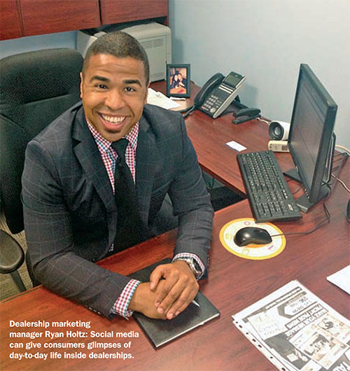 Ryan Holtz featured in the Automotive News