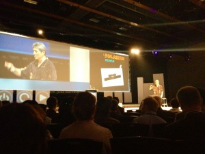 Guy Kawasaki Speaking at E-Town Festival at Shaw Conference Center