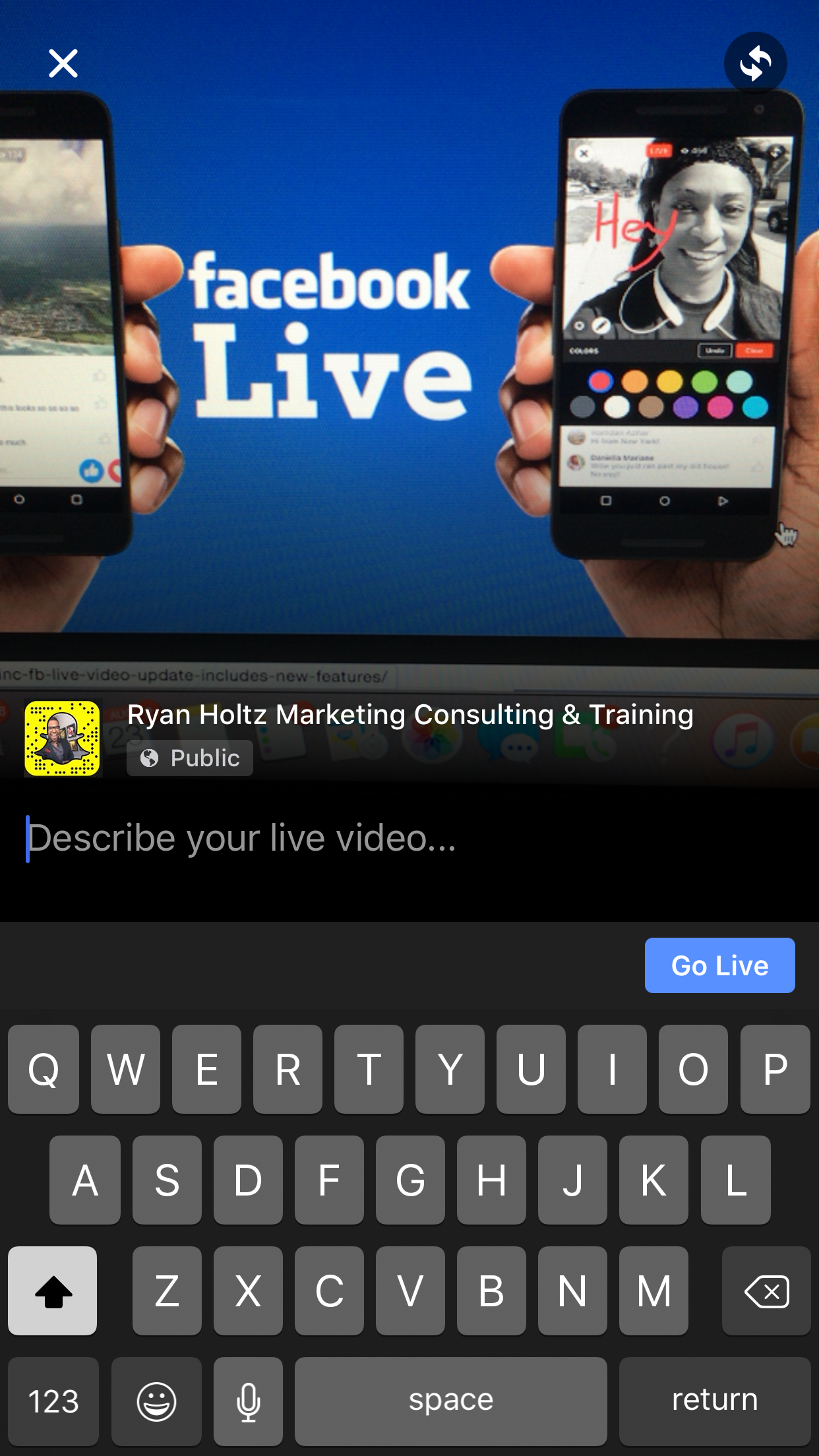 auto dealer marketer facebook live ups the anti two person 1624