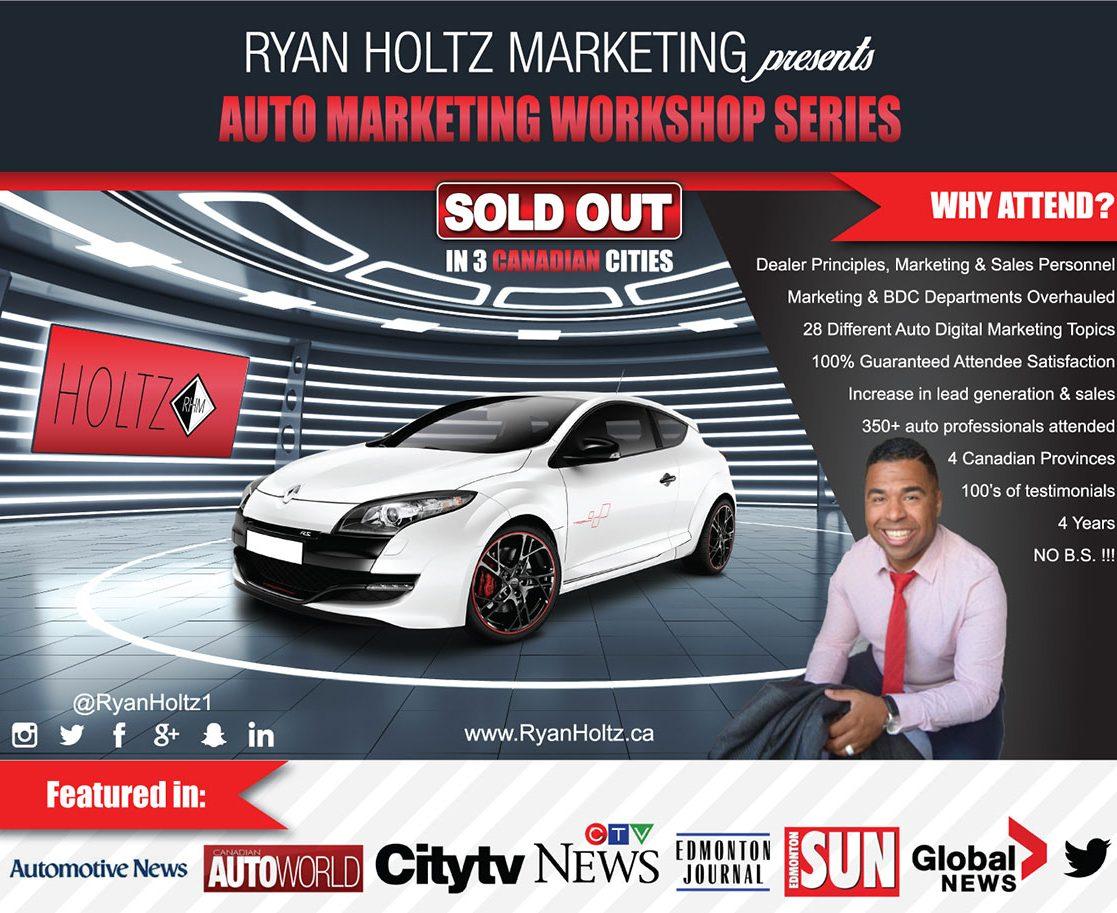 Ryan Holtz Auto Marketing Workshop