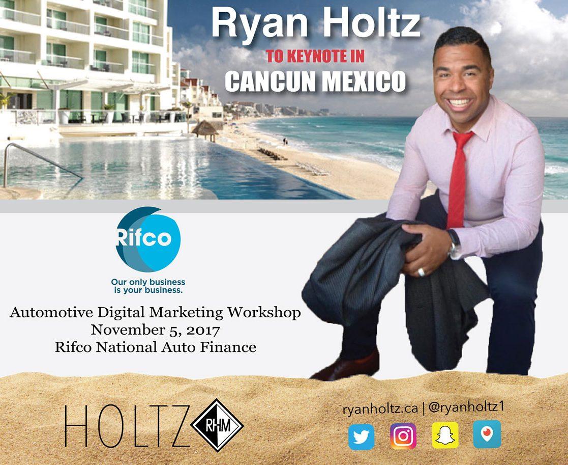 Ryan Holtz Automotive Marketing Workshop Rifco